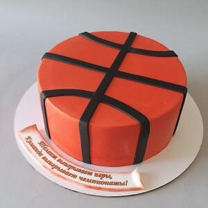 """Торт """"Баскетбольный мяч"""" Арт. 01062"""