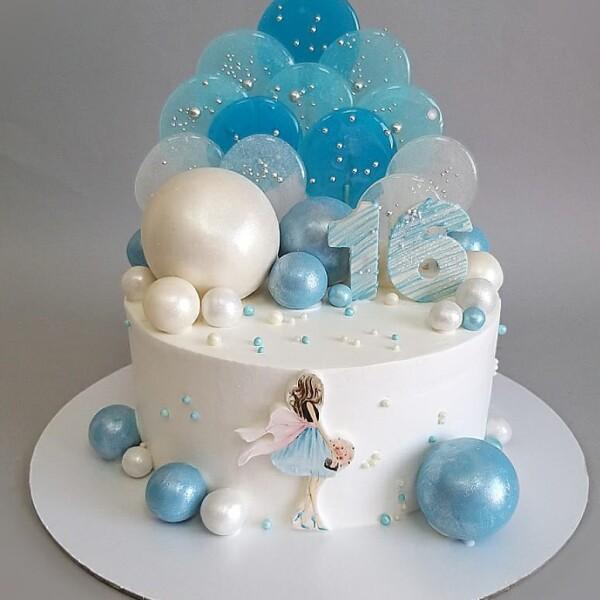 """Торт """"На 16-й День рождения"""" Арт. 01063"""