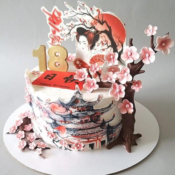 """Торт """"В японской тематике"""" Арт. 01065"""