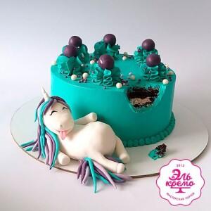"""Торт """"С откушенным кусочком"""" Арт. 01076"""