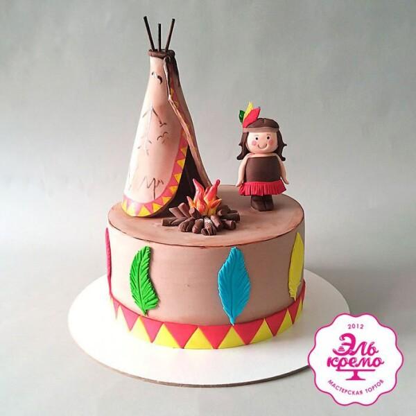"""Торт """"Детство – это счастье"""" Арт. 01077"""
