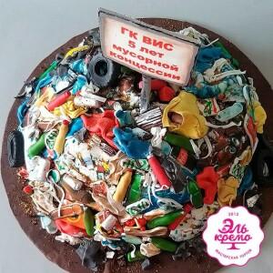 "Торт ""Куча мусора"" Арт. 01090"