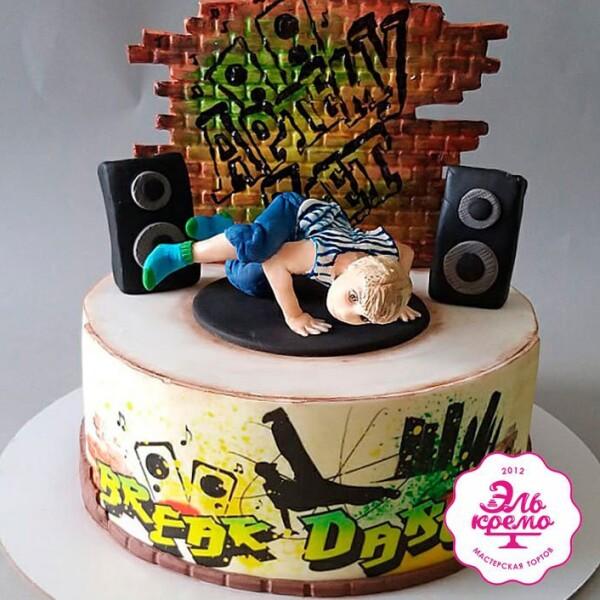 """Торт """"Для маленького танцора"""" Арт. 01095"""
